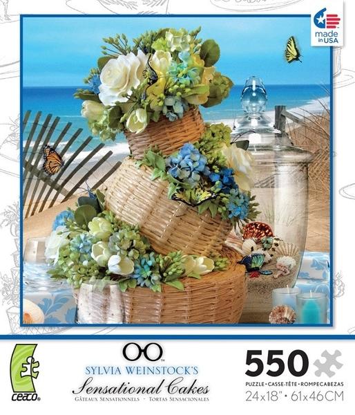 【KANGA GAMES】拼圖 海洋風蛋糕 Sylvia Weinstock's - Sensational Cakes 550片