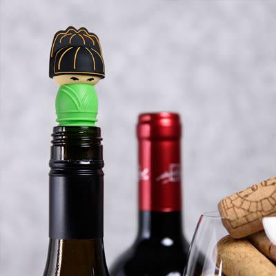 【收藏天地】文創禮品*官帽系列酒瓶塞-尚書 /創意小物 紅酒 歷史 安全矽膠 送禮
