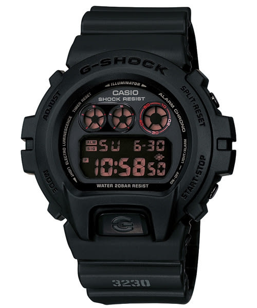 G-SHOCK G-SHOCK 赤血方剛之傳說運動數位錶-黑