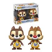 Funko POP!系列 Q版 Disney迪士尼 王國之心系列 Chip and Dale 奇奇與蒂蒂 2入組