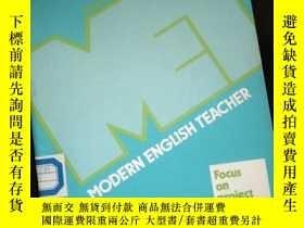 二手書博民逛書店MODERN罕見ENGLISH TEACHER Volume 14 Number 4 Autumn 1987Y