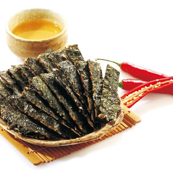 【美佐子MISAKO】中式食材系列-玉民 黃金蕎麥海苔薄燒(麻辣風味) 40g