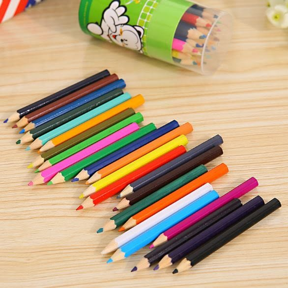 彩色鉛筆24色秘密花園彩鉛塗鴉筆