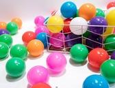 海洋球 7cm海洋球波波球玩具球球寶寶游樂園彩球 馬卡龍色海洋球T