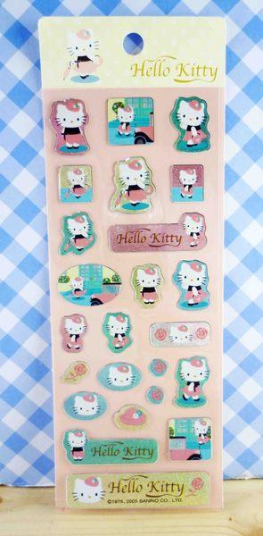 【震撼精品百貨】Hello Kitty 凱蒂貓~KITTY貼紙-淑女