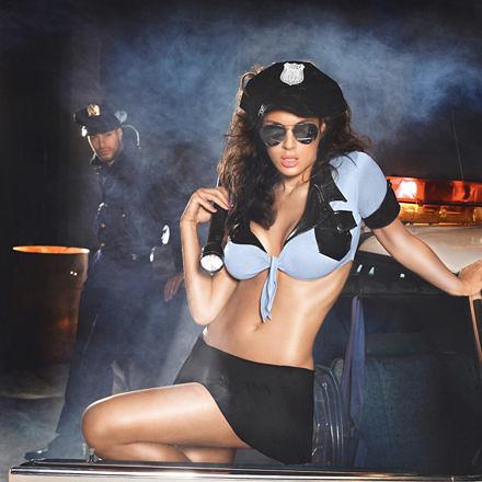 【伊莉婷】美國 Baci - Highway Patrol Set 追捕愛情 公路警察套裝 三件組 One Size