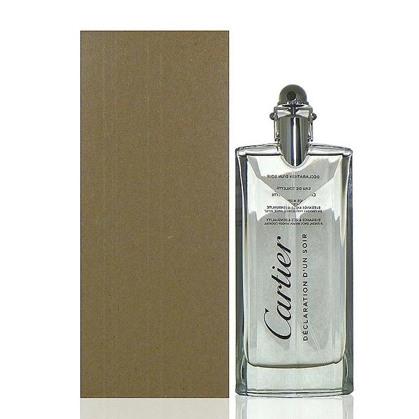 Cartier Declaration D'un Soir 宣言之夜男性淡香水100ml Tester