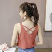 【YPRA】吊帶背心女裝上衣無袖T恤2020夏季
