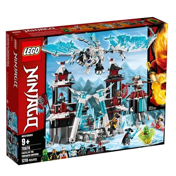 LEGO 樂高 NINJAGO 忍者系列 Castle of the Forsaken Emperor 70678