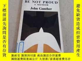二手書博民逛書店英文原版罕見death be not proud a memoir john gunther約翰岡瑟回憶錄Y2