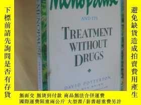 二手書博民逛書店英文原版罕見All About Menopause and Its Treatment without Drugs