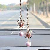 創意汽車掛件車內吊飾新款保平安招財貓車載後視鏡掛飾潮漂亮內飾 千與千尋