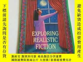 二手書博民逛書店RXPLORING罕見REALISTIC FICTION(英文)