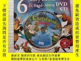二手書博民逛書店6罕見SANTA BEARCLAWS 6 story books & read-along DVD & CD【6本