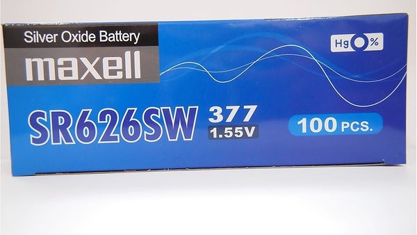全館免運費【電池天地】MAXELL日本製 手錶電池 鈕扣電池  M377 SR626SW  100顆
