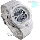 Baby G BG 6903 7B 日期計時碼表49mm 防水200 米白色膠帶女錶電子錶