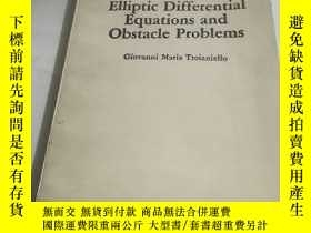 二手書博民逛書店Elliptic罕見Differential Equations AND Obstacle ProblemsY