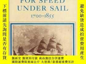 二手書博民逛書店B0012363XM罕見The Search for Speed under Sail, 1700-1855.-在