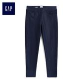 Gap女童 簡約純色打底長褲 512612-牛仔色
