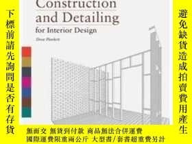 二手書博民逛書店Construction罕見And Detailing For InteriorY237948 Drew Pl