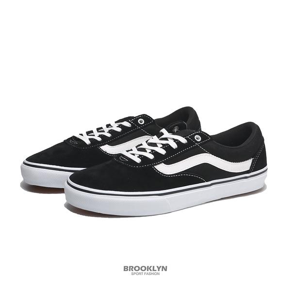 VANS 休閒鞋 板鞋 CHOPPERS 基本款鞋型 黑白 男 (布魯克林) 132201H