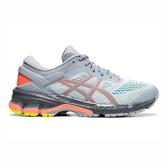 ASICS GEL-KAYANO 26 W [1012A536-020] 女鞋 運動 慢跑 健走 休閒 緩震 輕量 灰藍