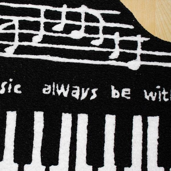 鋼琴地毯 鋼琴專用隔音地毯地墊腳墊防滑三角鋼琴墊地毯1.4米x1米