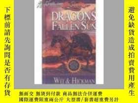 二手書博民逛書店Dragons罕見of a Fallen Sun 落日之龍 奇幻