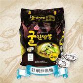 韓國 不倒翁 真牡蠣炒碼麵 4包入 520g【櫻桃飾品】【28622】