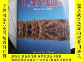 二手書博民逛書店CANADA罕見The Scenic Land(8開精裝)Y14