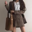 韓版ins風寬肩帶水桶包包女大容量學生軟皮單肩斜背包潮簡約百搭 蘿莉小腳丫