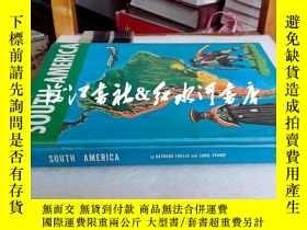 二手書博民逛書店英文原版精裝south罕見America(california