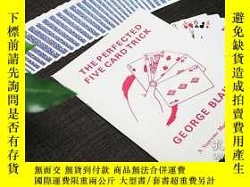 二手書博民逛書店The罕見Perfected Five Card Trick by George Blake - BookY3