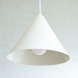 [HUT M]簡約北歐風三角吊燈(大)~TML愛媛家居白色