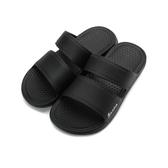 SLIPA 經典雙帶運動拖鞋 黑 MA08 女鞋 鞋全家福