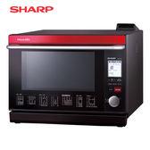 [SHARP 夏普]31公升 HEALSIO水波爐-紅 AX-WP5T-R