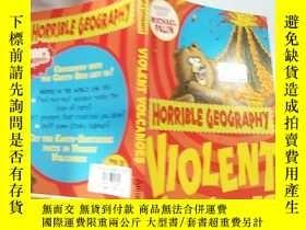 二手書博民逛書店violent罕見volcanoes 猛烈的火. 山..Y200392
