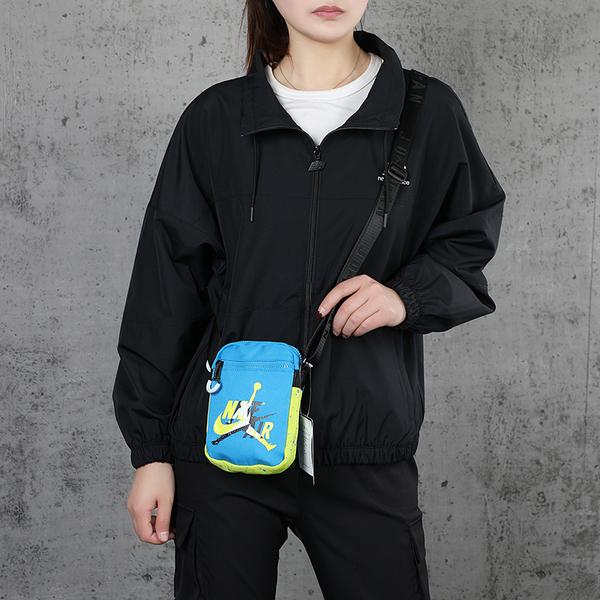 【現貨】NIKE JORDAN JUMPMAN 背包 側背 藍 迷彩【運動世界】JD2023004GS-002