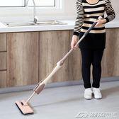 免手洗旋轉平板拖把大號拖地墩布瓷磚塵推家用懶人雙面木地板托把igo   潮流前線