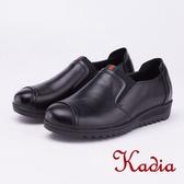 kadia.懶人鞋-質感素面休閒鞋(9056-90黑色)