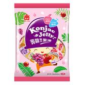 義美蒟蒻寒天果凍-葡萄+蘋果875g【愛買】