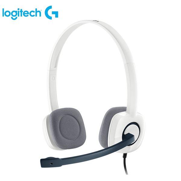 [logitech 羅技 ] 立體聲耳機麥克風-白  H150