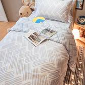天絲床組 谷白 QPM4雙人加大鋪棉床包鋪棉兩用被四件組(60支) 100%天絲 棉床本舖