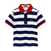 『小鱷魚童裝』條紋POLO衫(08號~20號)535102