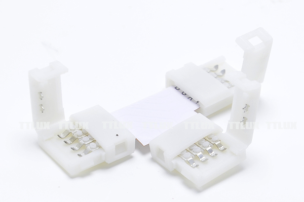 T型燈條線夾(七彩用)(RGB接頭 對接頭 連接頭 4PIN LED七彩燈條用)