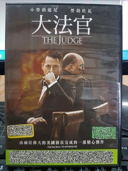 挖寶二手片-P64-018-正版DVD-電影【大法官】-小勞勃道尼 勞勃杜瓦(直購價)