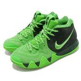 ISNEAKERS NIKE KYRIE 4 GS 綠黑 運動 籃球鞋 女鞋 大童鞋 AA2897-333