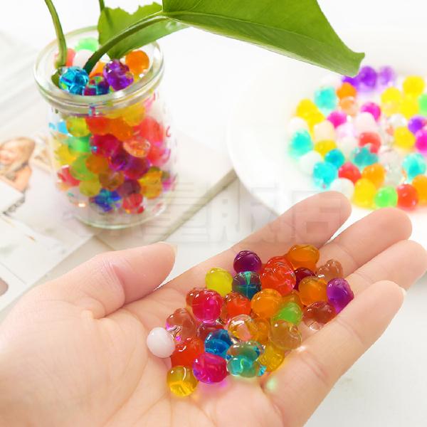 水晶寶寶 水晶珠 水晶土 吸水球 魔晶土 水晶泥 吸水珠 無土植栽 園藝 栽培 盆栽 兩色