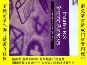 二手書博民逛書店English罕見for Specific Purposes (Magazine) 10 2017專業英語雜誌