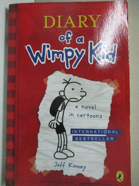 【書寶二手書T1/原文小說_GIZ】Diary of a Wimpy Kid_Jeff Kinney